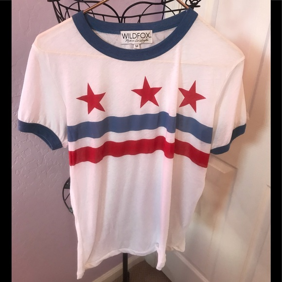 Wildfox Tops - Wildfox Star and stripe T-shirt